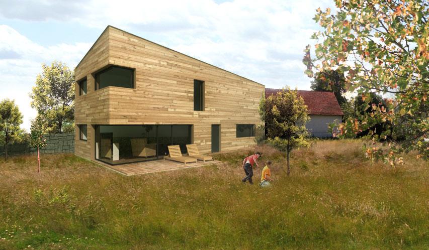 dům nejlevnější dřevostavba