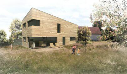 dřevostavba s architekty