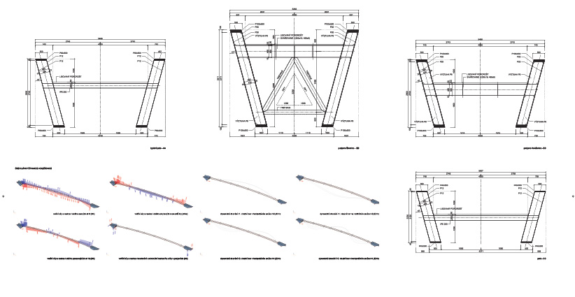 konstrukce lavky holesovice-karlin