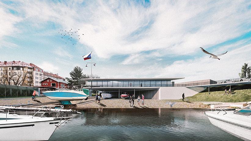podolí přístav loděnice tatran návrh